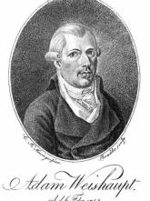 founder of Illuminati Adam Weishaupt